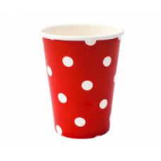 Парти Чашки На Точки - Червени
