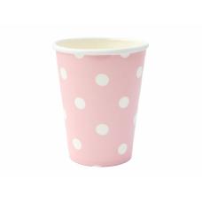Парти Чашки На Точки - Розови