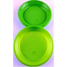 Парти Чинии - PVC - Зелени