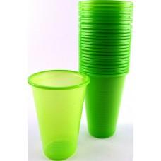 Парти Чаши - PVC - Зелени