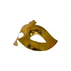 Маска домино - жълта Парти маски и перуки
