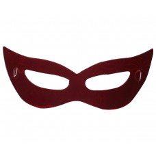 Маска домино - червена Парти маски и перуки
