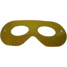 Маска домино - златна Парти маски и перуки
